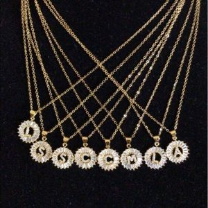 3bbfd4ac2f41e1 Jewelry - new 18k gold filled cz diamond necklace